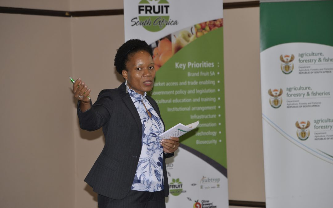 Fruit SA CEO elected SHAFFE president